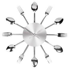 Настенные часы для кухни Ложки-вилки
