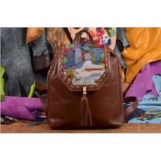 Женский рюкзак с принтом Волшебная мелодия