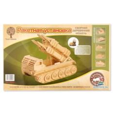 Деревянная сборная модель «Ракетная установка»