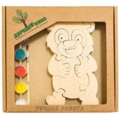 Развивающая игрушка Панда 2 с красками