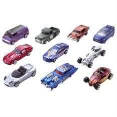 Подарочный набор из 10 машинок Mattel Hot Wheels