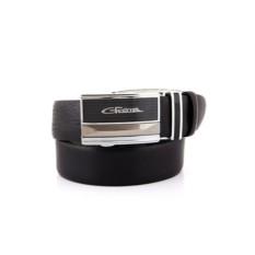 Черный мужской кожаный ремень тип 82950182