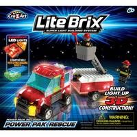Конструктор Lite Brix Служба спасения. Машина