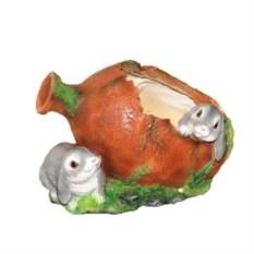 Кашпо Два зайца у кувшина