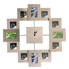 """Настенные часы-фоторамки """"Счастливые мгновения"""""""