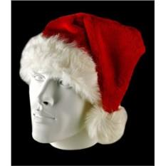Обшитая мехом шапка Санта Клаус