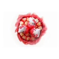 Букет из мягких игрушек 3 котенка