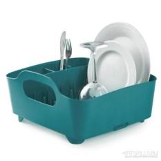Сине-зелёная сушилка для посуды Tub