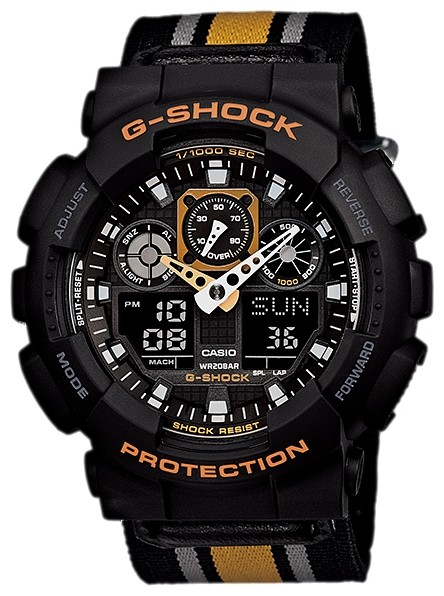 Часы Casio G-Shock GA-100MC-1A4 Classic Collection