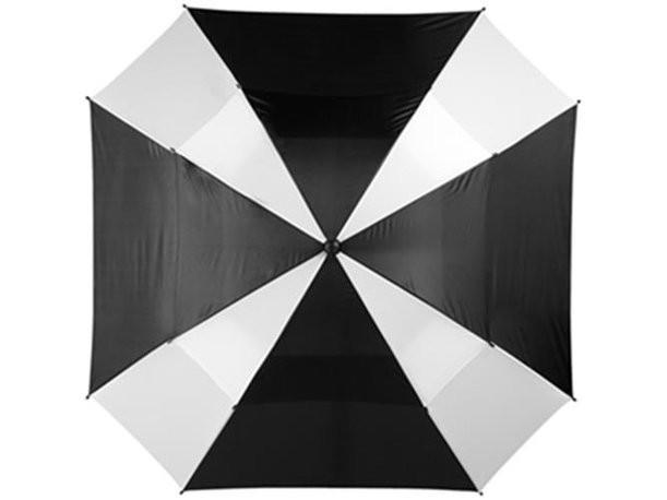 Зонт-трость с двойным куполом 2-х цветовой гаммы