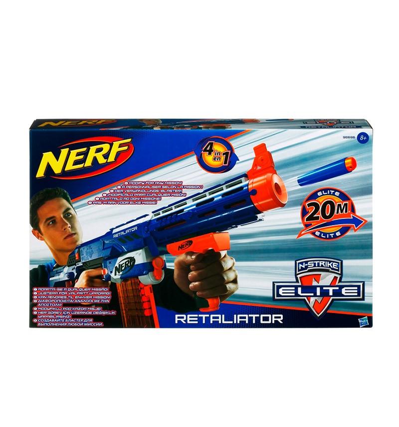 Оружие Hasbro Бластер Nerf N-Strike Elite Retaliaator