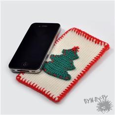 Чехол на телефон Новогодняя елочка