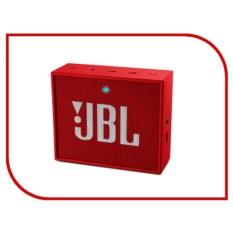 Компактная портативная колонка JBL Go Red