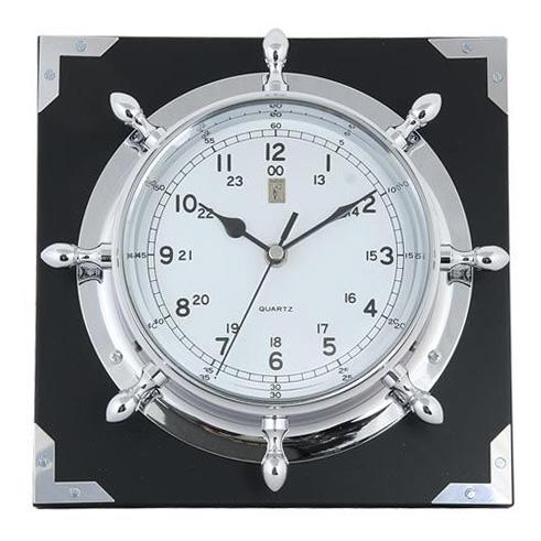 Часы (штурвал) настенные от Sea Power