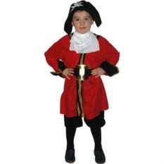 Детский карнавальный костюм пирата Капитан Хук
