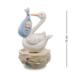 Музыкальная фигурка С Новорожденным (Pavone)
