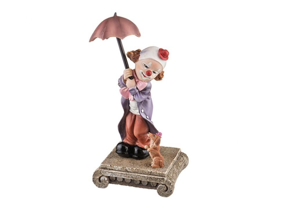 Фигурка Клоун с зонтиком