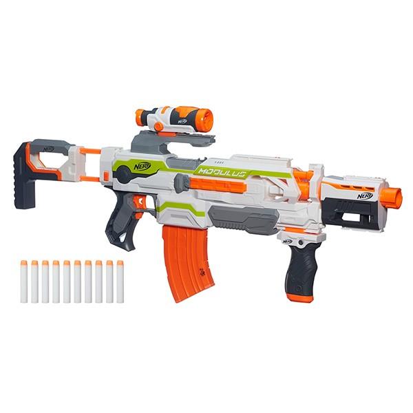Игрушечное оружие NERF Бластер Модулус