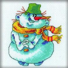 Набор для вышивания Снеговик