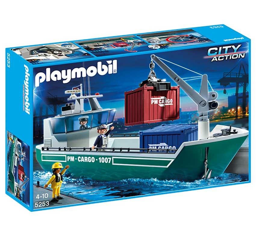 Конструктор Грузовое судно с погрузочным краном