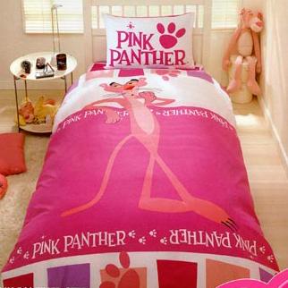 Комплект постельного белья PINK PANTER STEP