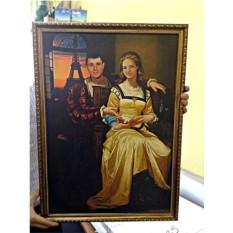 Портрет по фото в историческом образе (40x60 см)