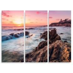 Модульная картина Калифорнийский пляж