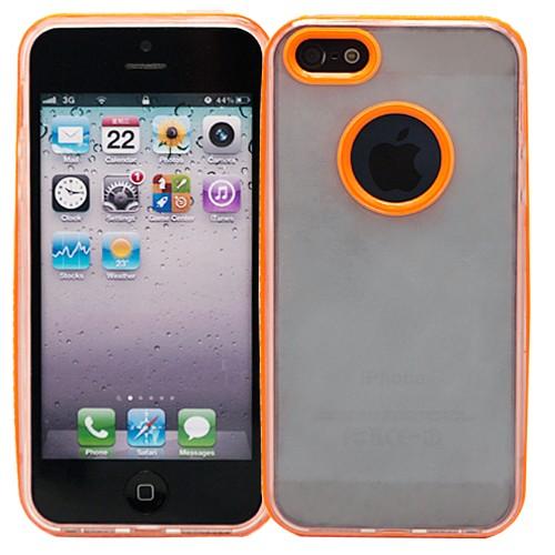 Чехол для iPhone 5/5s Kaster (оранжевый)