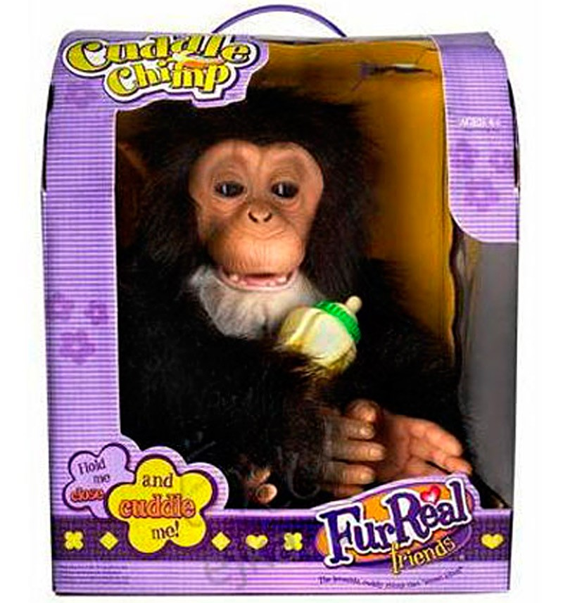 Смешливая обезьянка Hasbro FurReal