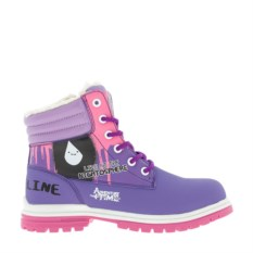 Сиреневые ботинки Adventure Time
