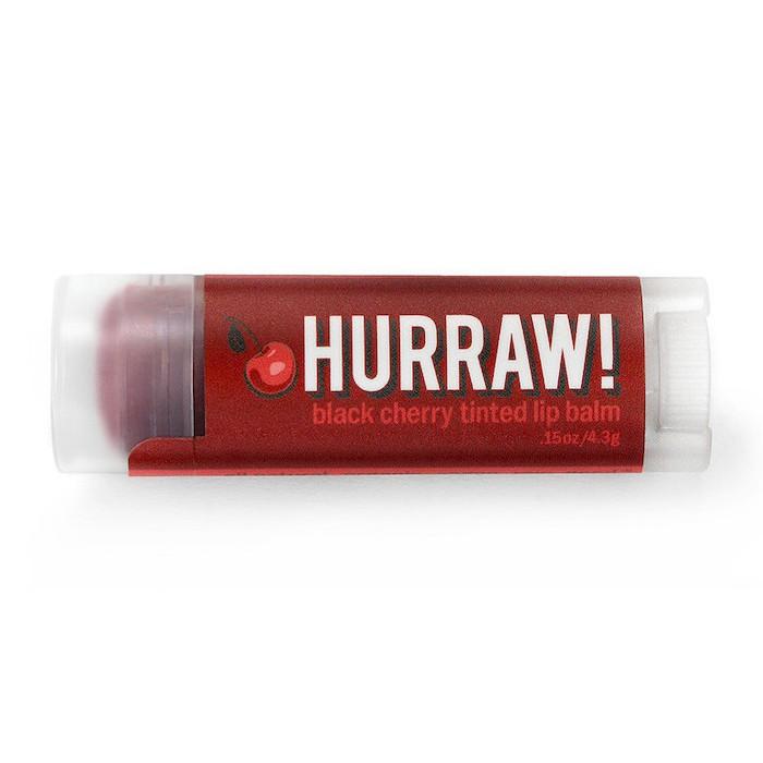 Бальзам для губ Hurraw! Black Cherry Tinted Lip Balm