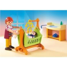 Конструктор Плеймобил Детская комната с люлькой