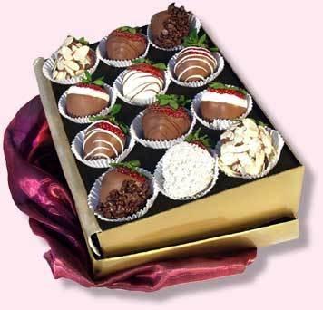 Клубника в шоколаде Каприз