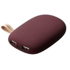 Внешний аккумулятор Pebble 7800 мАч (цвет: винный)