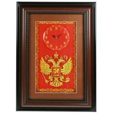 Настенные часы-коллаж 3D Герб России