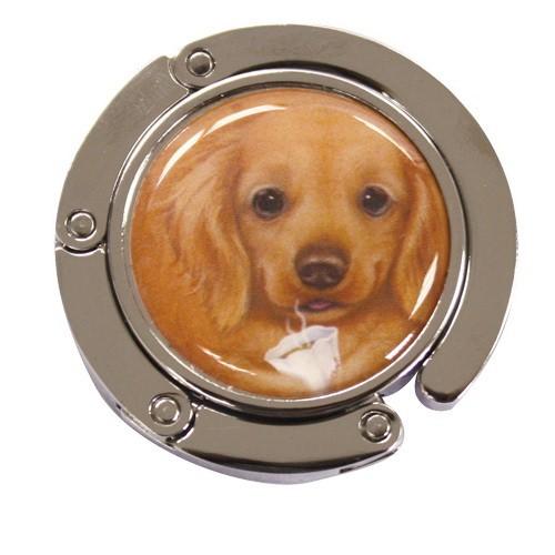 Крюк-вешалка для сумки с собачкой Коко