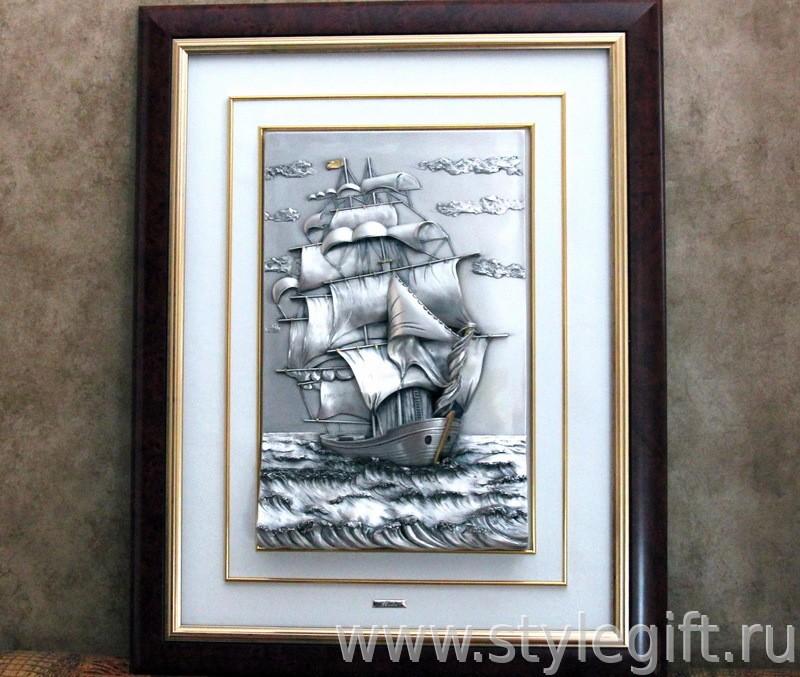 Картина Парусник (31х48 см)