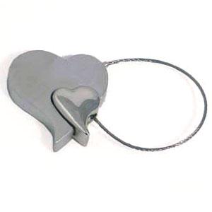 Брелок «Два сердца»