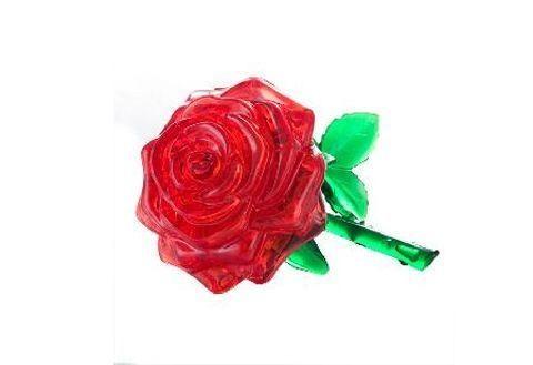 3D головоломка Красная роза