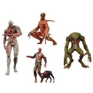 Набор из 4х фигурок Resident Evil
