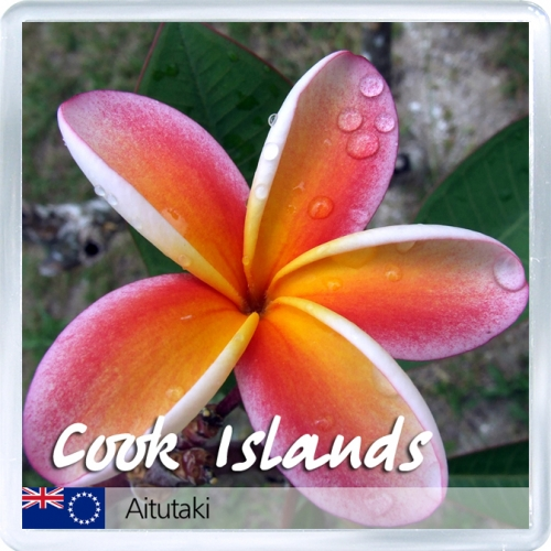 Магнит на холодильник: Острова Кука. Аитутаки