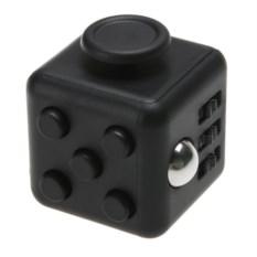 Черная игрушка-антистресс Fidget Cube