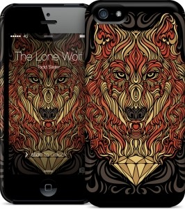 Чехол для iPhone 5/5s Gelaskins The Lone Wolf - Todd Slater