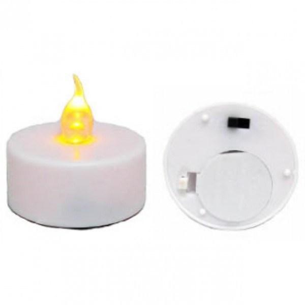 Подсвечник Пламя свечи (с набором светодиодных свечей)