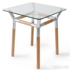 Придиванный столик Konnect (цвет: никель)