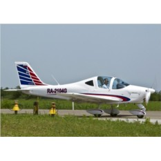 Сертификат 40 минут полета на Tecnam P2002 Sierra