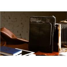 Кожаная сумка через плечо Brialdi Capri (цвет — черный)