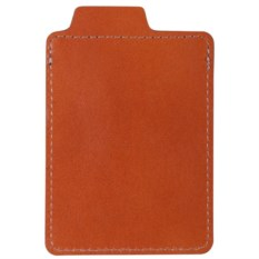 Коричневый футляр для кредитной карточки Security
