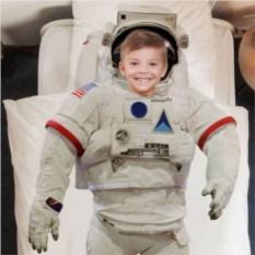 Комплект постельного белья Маленький космонавт