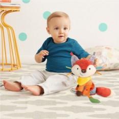Развивающая игрушка-подвеска Лиса с прорезывателем